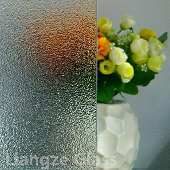 6mm 8mm Nashiji Patterned/Figured/Rolled Glass for Decoration