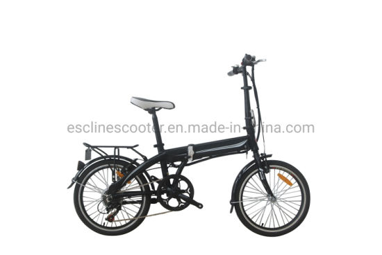 20'' Aluminium Frame Battery Hidden Folding Ebike Ce Approved Factory China Sales