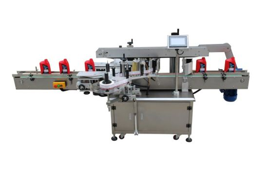 Automatic Double Side and Flat Labeling Machine for Round Bottle pictures & photos