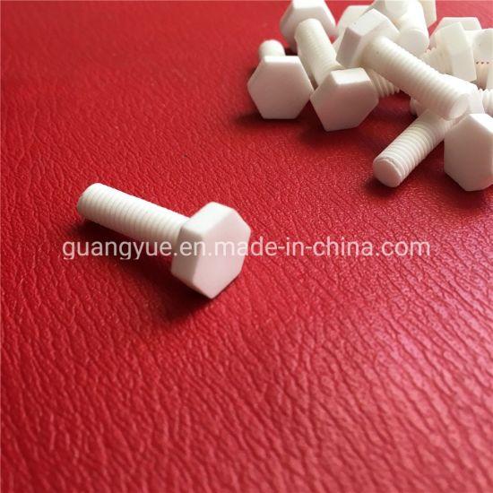 95 Al2O3 Alumina M6X20mm Hex Head Ceramic Screws Bolt and Nuts