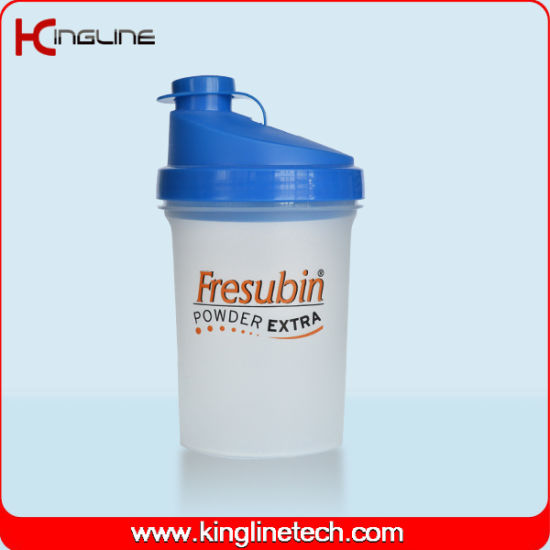 500ml customs wholesale gym fitness sports protein shaker bottle with filter