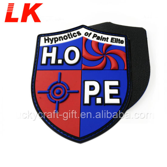 Custom 3D Rubber Soccer Sport Patches for Sale