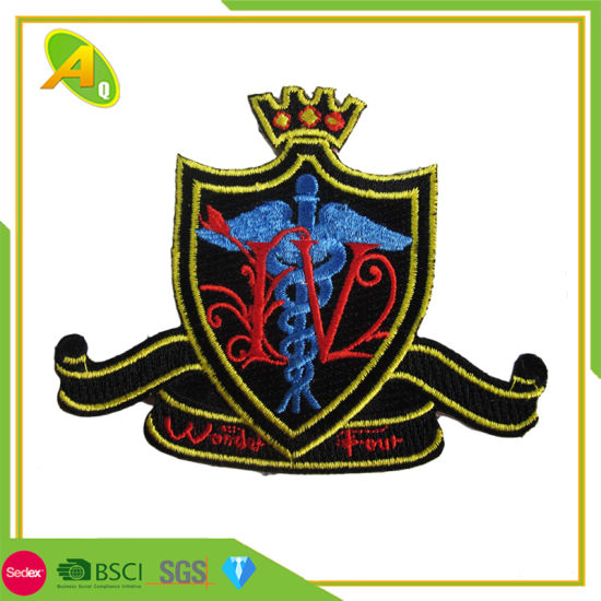 Hot Selling OEM Factory Garment Accessories Custom Embroidery Patch (100)