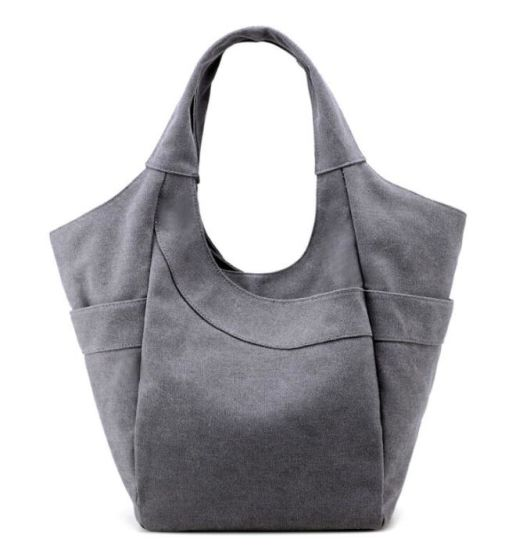 Summer Casual Tote Canvas Handbags Hobo Shoulder Shopping Beach Bags
