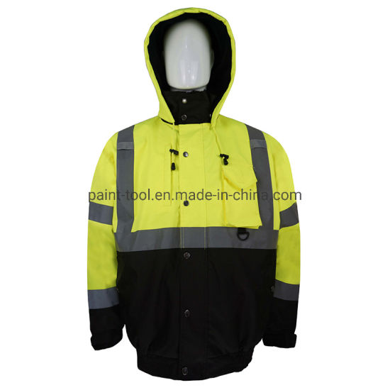 Fabric Resistant Waterproof High Visibility Reflective Safety Work Wear Clothing