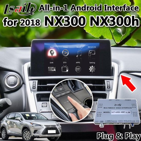 China All In 1 Android Gps Navigation For 2018 Lexus Nx Integrated