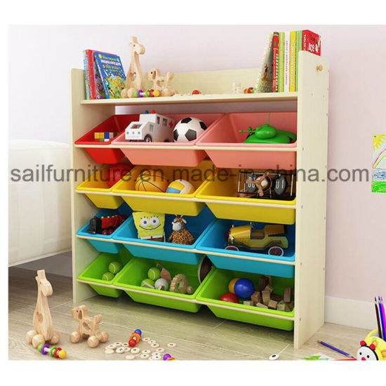 Toy Storage and Box Cabinets for Kids and Kindergarten