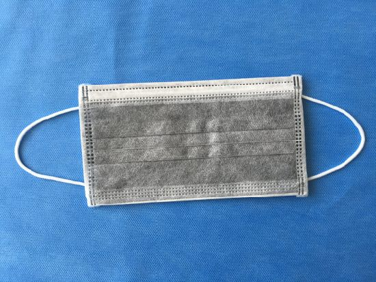 charcoal surgical face mask
