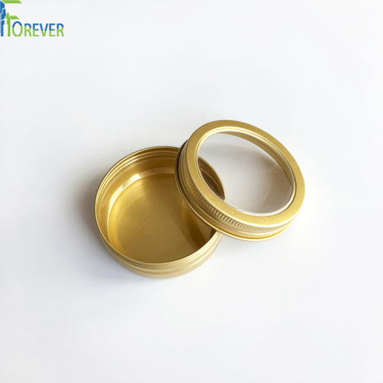 Gold Metal Candle Tin pictures & photos
