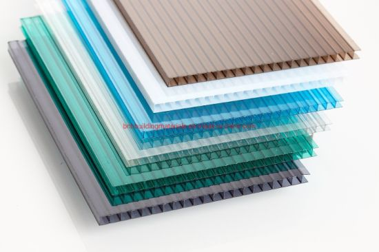 High Transmission Hollow Polycarbonate Sheet pictures & photos
