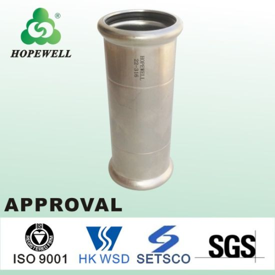 Pressure 75mm Pipe Water Well Fittings Male Female Grooved SUS 304 Male & Female Elbow Camlock Reducing Steel 25mm Price List Mapress Pumps Hydraulic Coupling
