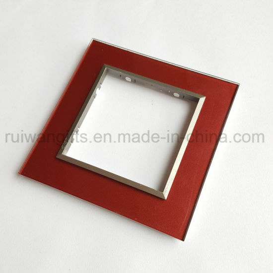 Tempered Glass Cover Plate for Socket and Switch
