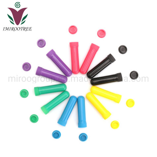 Imirootree Plastic Blank Nasal Inhalers with High Quality Wicks (10 Colors To Choose)