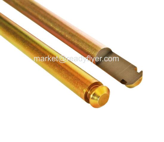 Solid Dustbin Axle for Plastic Wheelie Bin