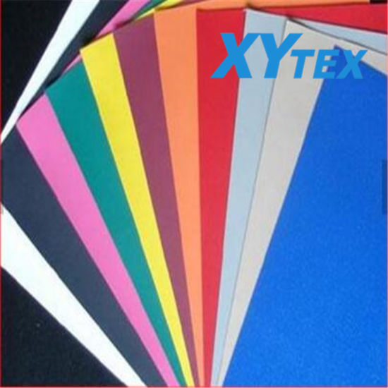 High Quality PVC Coated Fabric Tarpaulin with Laminating for Tent, Bag, and Lamp Box, etc
