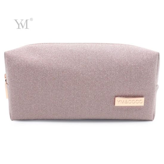 High Quality Shiny Glitter Cosmetic Pouch Makeup Bag