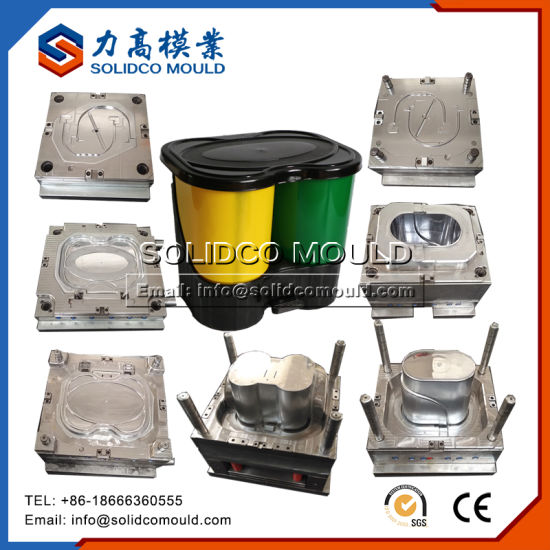 Wholesale Plastic Trash Cans Dish Plate Injection Molds for Sale