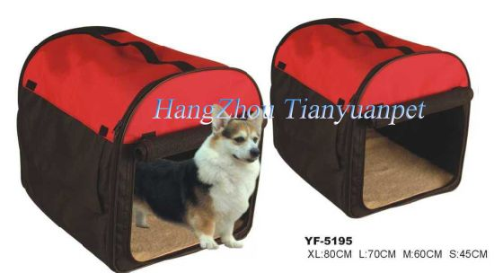 Pet Carrier Bag, Pet Product, Dog Bed with Foldable Gate pictures & photos