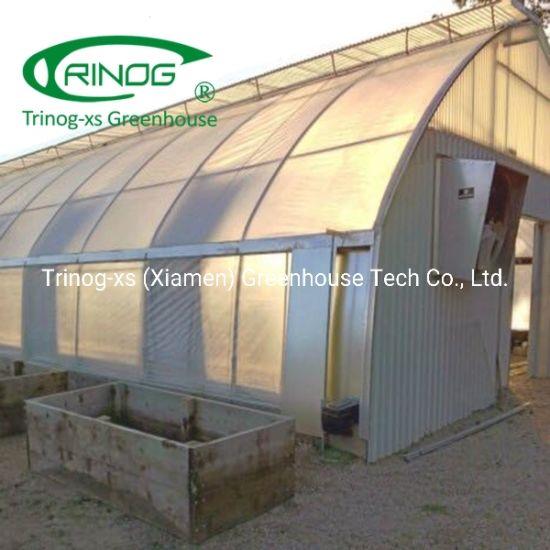 Auto light deprivation shading screen system for hemp greenhouse
