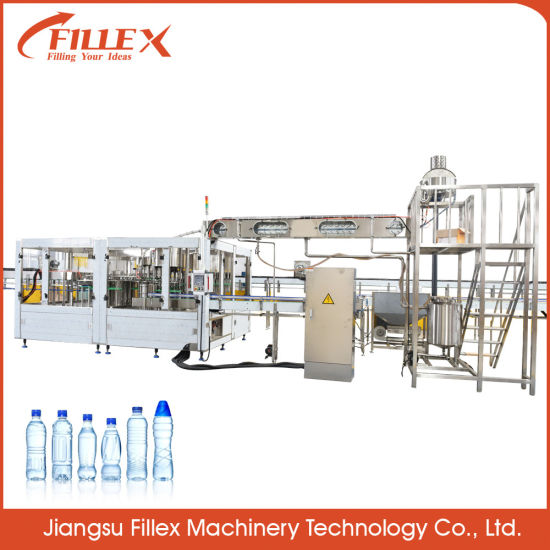 Complete Solution Bottled Water Soda Juice Carbonated Drink Filling Packing Production Line