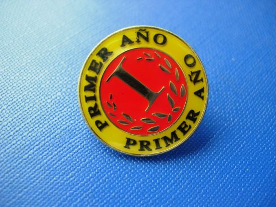 Enamel Gold Plated Die Casting Metal Badge (GZHY-CY-030) pictures & photos