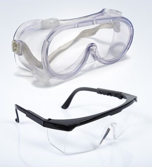 Protective Eyewear Anti-Fog Anti-Virus Protective Safety Glasses Goggles FDA, Ce