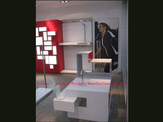 Floor Mounted Garment Display Rack (XBLC017)