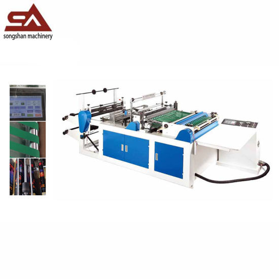Automatic Side Sealing PE, PVC, PP, BOPP Bag Making Machine pictures & photos