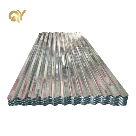 Dx51d Zinc Coated Metal Roof Sheet Corrugated Galvanized Steel Plate