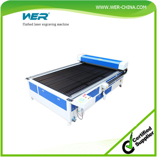 New Printer of Flatbed Laser Engraving Machine with 1500hrs Laser Tube