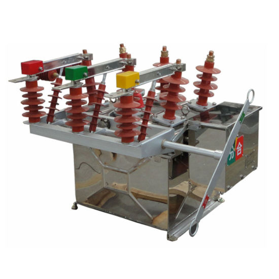 Stainless Steel Outdoor HV High Voltage Vacuum Circuit Breaker 630A Factory