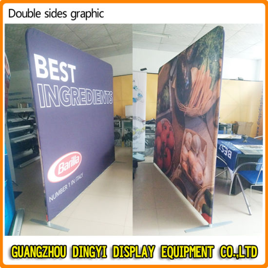 Fabric Exhibition Stand Up : China straight exhibition advertising display equipment rack