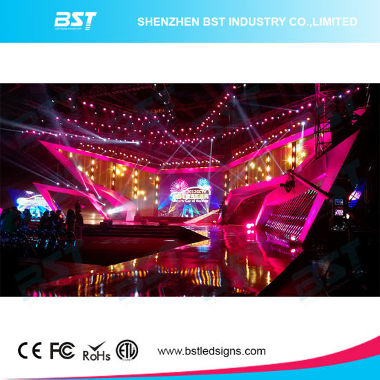 P2.98mm Indoor Rental LED Display with Die-Casting Aluminum LED Panel