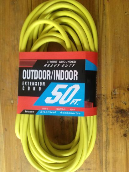 Extension Cord, 100FT. pictures & photos