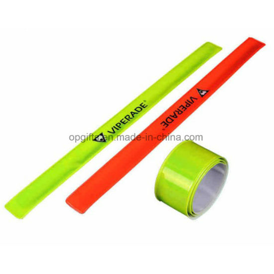 Sport Silicone Slap Wrap Wrist Band with Ruler Snap Bracelet pictures & photos