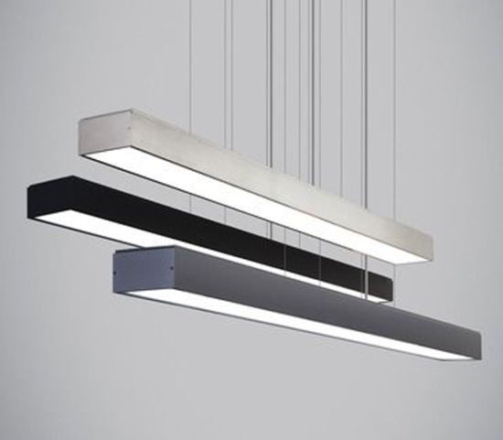 Commercial Led Linear Modern Lighting Hanging Fixture Trunking Lamp