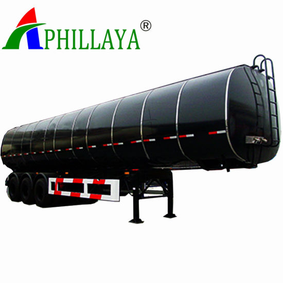 38000liters Asphalt Tank Semi Trailer with Heating (03) pictures & photos