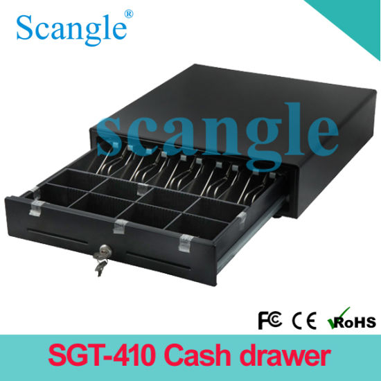 Money Drawer, POS Cash Drawer 410, Cash Drawer 24V pictures & photos