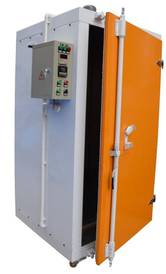 Small Electric Powder Coating Curing Oven for Car Wheels pictures & photos