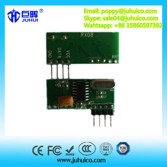 433 92 MHz Adjustable Frequency RF Transmitter Receiver Module