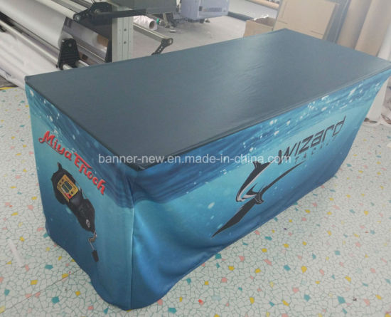 Washable Durable Full Color Advertisement 3D Table Cloth (SS-TC31) pictures & photos