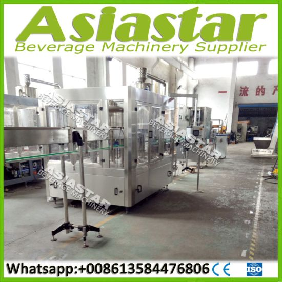 Automatic Complete Washing Filling Capping Machine for Drinking Water