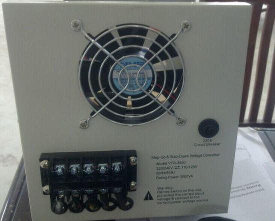 8000va Step up/Down Voltage Converter pictures & photos