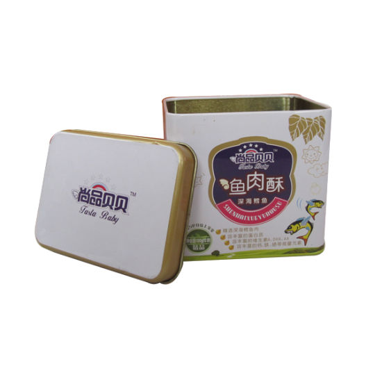 Big Square Metal Cookie Tin Gift Box pictures & photos
