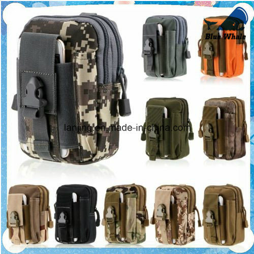 Outdoor Waterproof Tactical Backpack Waist Fanny Pack Camping Army Pouch pictures & photos