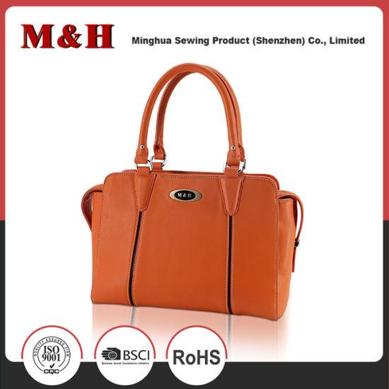 add610ac83093 Genuine Leather Portable Orange Ladies Designer Handbags pictures   photos