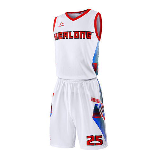0b44872a4 Healong Youth Sportswear Team Set Basketball Jersey Custom Sublimated Basketball  Uniforms pictures   photos