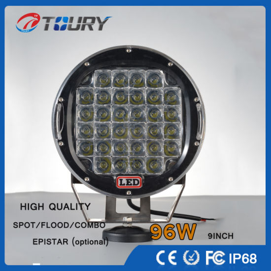 CREE Auto Parts LED Spot Driving Lamp off Road LED Work Light with 96W pictures & photos