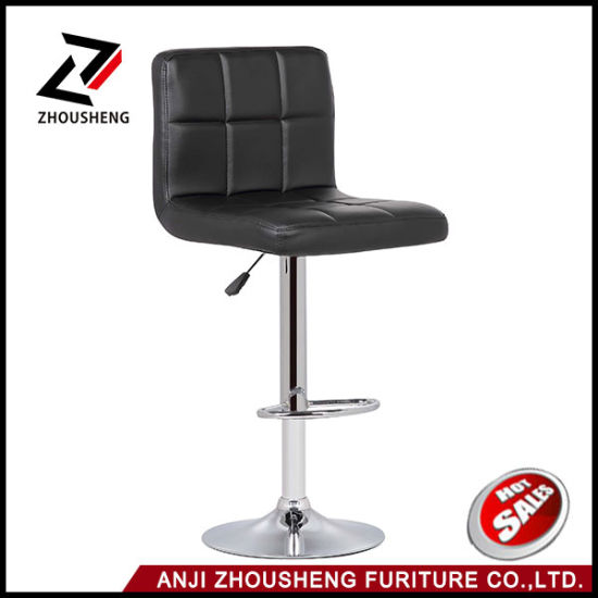 Awesome Modern Adjustable Swivel Barstools Hydraulic Chair Bar Stools Inzonedesignstudio Interior Chair Design Inzonedesignstudiocom