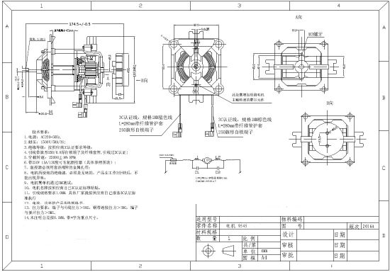 Manufacturer Motor for Circuit Breaks U95 pictures & photos